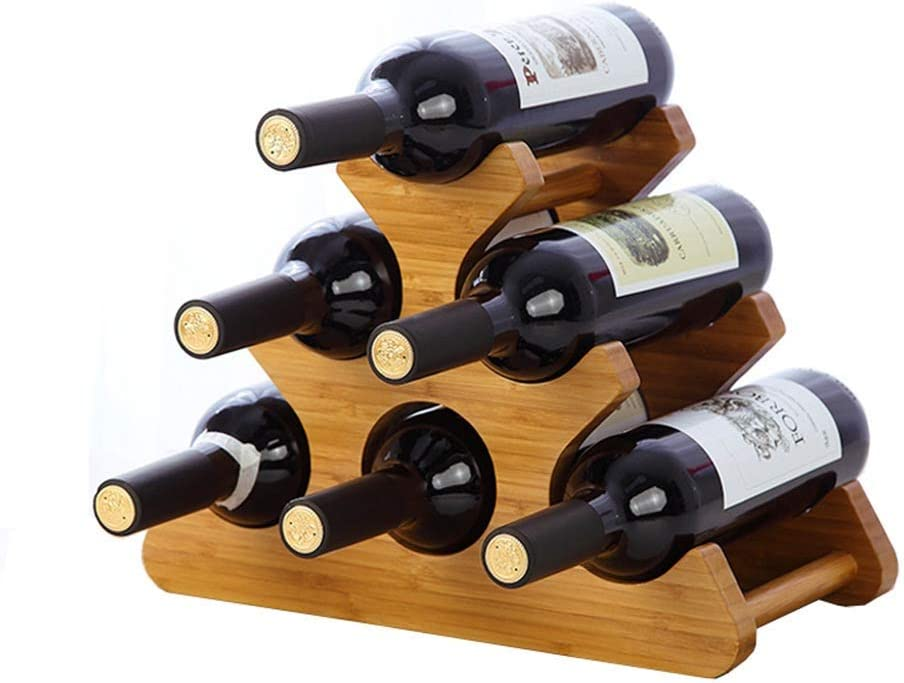 BINGFANG-W Wine Rack Stackable Max 89% OFF Display Storage and Kitchen Home Cheap super special price