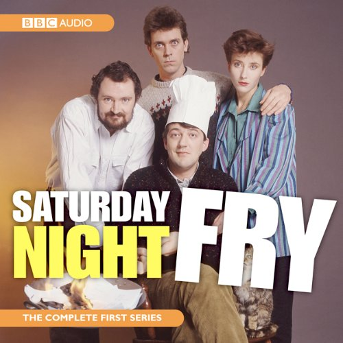 Saturday Night Fry audiobook cover art
