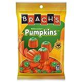 Brach's (1) Bag Mellowcreme Pumpkins - Orange & Green Pumpkin Shaped Halloween/Fall Candy - Made with Real Honey - Net Wt. 4.2 oz