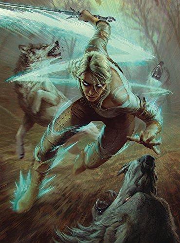 Comics Ciri y los lobos Puzzle The Witcher, multicolor (JUN180386) , color/modelo surtido