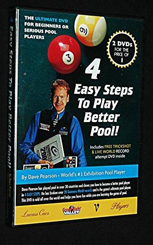 Dave Pearson 4 passos fáceis para jogar melhor piscina! DVD