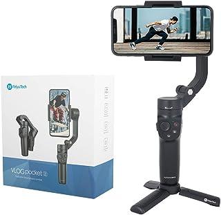 FeiyuTech 公式VLOGポケット2 3軸スマートフォンジンバルスタビライザー iPhone 11 PRO MAX 12 Pro X XR XS アンドロイド Vlog YouTube タイムラプスオリジナルカメラコントロール モバイルフ...