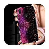 Coque Silicone Luxe Marbre Texture pour Huawei Mate 30 20 20X 10 Lite Y9 Y7 Y6 Y5 Pro Prime Lite...