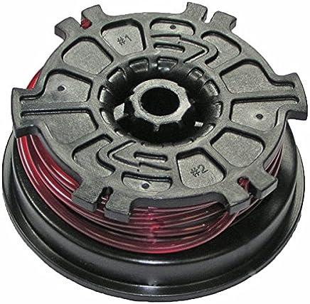 Homelite/Ryobi - Spool W/Line 0.095 Red - 308044003 by Homelite/Ryobi