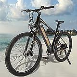 Bicicleta Eléctrica para Adultos Batería Extraíble 250 W Motor E-Bike MTB Pedal Assist Amigo Fiable para Explorar