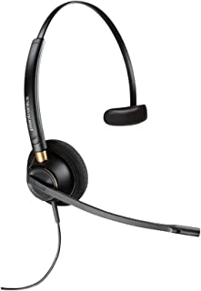 Plantronics EncorePro HW510D Over-the-Head Monaural Headset with Noise Cancelling Microphone