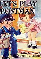 レトロB4ポスター こども郵便屋さん レトロポップ