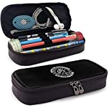 Büro für Übersinnliches Forschung und Verteidigung Ledermäppchen Multi-Funktions-Briefpapier Pens Pouch Box mit Zipper für Kinder