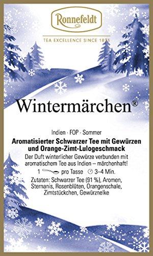 Ronnefeldt - Wintermärchen - aromat. schwarzer Tee - 100g - loser Tee
