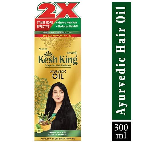 Emami Kesh King, pflanzliches und natürliches Haaröl, 300 ml