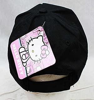 Hello Kitty Baseball Cap (Black)