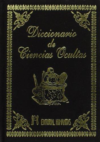 Diccionario De Ciencias Ocultas -Terciopelo-
