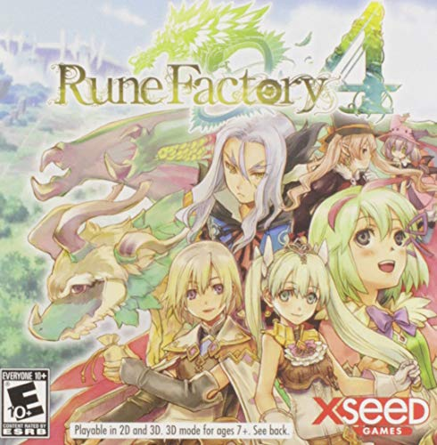 Rune Factory 4 - Nintendo 3DS by Xseed