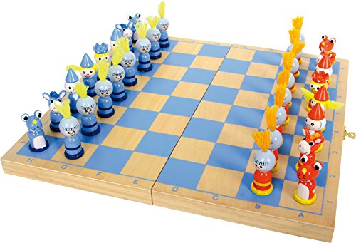 small foot design Legler - 2019198 - Juego de ajedrez - Chevaliers