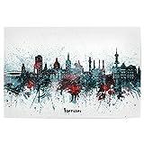 artboxONE Poster 150x100 cm Städte Hannover Skyline