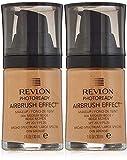 Revlon PhotoReady Airbrush Effect Makeup, 006 Medium Beige (2-pack)