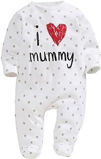 Carolilly Prima Infanzia Neonate Body Pagliaccetto Bambina con Stampa Flamingo Rosa Tutina con Gonna Tulle Rosa per Newborn Baby Girl