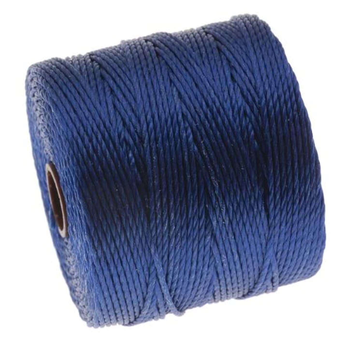 BeadSmith Super-Lon Cord - Size #18 Twisted Nylon - Capri Blue / 77 Yard Spool
