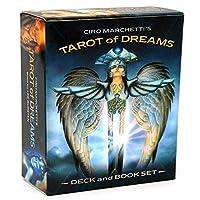 EGuideブック付きの完全英語版のタロットデッキEinstructionカードゲーム占いゲームは運命予測カードゲームを設定します