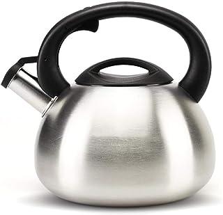 Hervidor de agua De Acero Inoxidable 304 Marmita Silbador A Gas Universal 2.5L