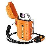 Lafagiet Waterproof Arc Lighter, Outdoor Dual...