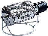 XJYDS Coffee Tosting Machine Home Coffee Roaster Hogar Soodids Acero Inoxidable Café Máquina de Tostado Máquina de Tostado Máquina de Tostado de café eléctrico (Color: Plata, Tamaño: 38x