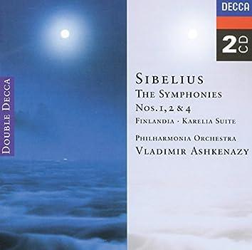 Sibelius: Symphonies Nos. 1, 2 & 4; Finlandia; Karelia Suite (2 CDs)