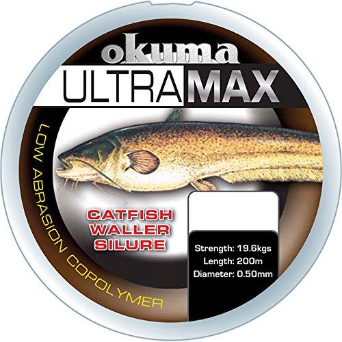 Okuma Cuerda Ultra MAX Siluro Siluro Angel, 14,90kg 0,50mm/19,6kg Bobina 245m (0,03€/m)