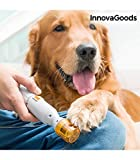 InnovaGoods | Lima de uñas eléctrica para mascotas | Amarillo