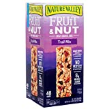 2 Packs Nature Valley Fruit & Nut Chewy Granola Bar Trail Mix 48 ct 59.2 oz Each