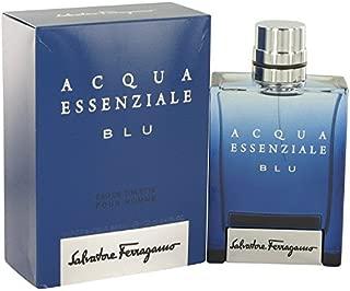 Acqua Essenzíale Blu by Sálvátore Férrágámó for Men Eau De Toílette Spray 3.4 oz