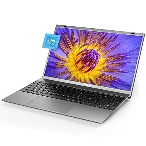 2021 Nuovo laptop Coolby ZealBook ultra sottile e leggero, Intel J4115,4-core-4threads PC NoteBook Computer portatili sottili da 15,6  1080P IPS, SSD da 256 GB, DDR4 da 8 GB, Windows10 Pro