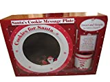 Child to Cherish Santa Message Plate Set