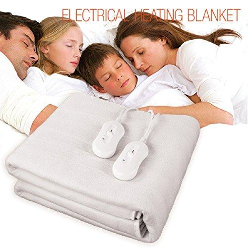 Elektrische deken voor tweepersoonsbedden, 160 x 140 cm