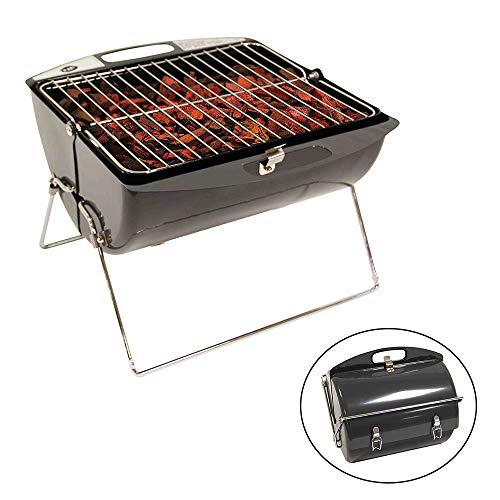 RLQ Barbecue Grill, Grill Pliable, Mini Voiture Portable Barbecue Barbecue Grill Viande Grill, Convient pour Pique-Nique Partie