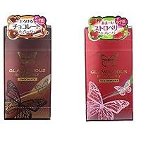 ジェクス グラマラスバタフライ  コンドーム チョコレートの香り  6個入 + ストロベリーの香り 6個入