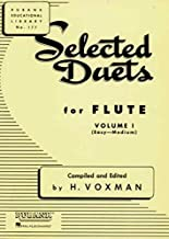 Selected Duets for Flute: Volume 1 - Easy to Medium (Rubank Educational Library)