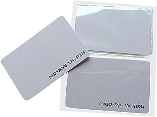 YARONGTECH 125KHz EM4100 accès de Porte d'entrée Blanc proximité Carte RFID (Lot de 10)