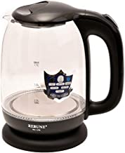Rebune Electric Kettle 1.7 Liter, Black, RE-1-076