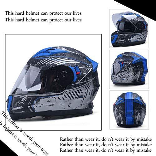 DOT-zertifizierter Helmwettbewerb Spezielle Outdoor-Offroad-Helme für Männer und Frauen Vier Jahreszeiten Universal Street Vollhelm Dreifarbig Optional, schützen Sie Ihre Reise vor Verletzungen