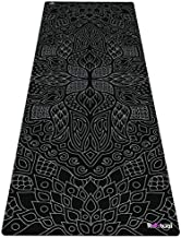 Reetual, The Yoga Mat That Adores Sweat | Premium Hot Yoga Mat Non Slip Combo 2 in 1 - With Carrying Strap | Eco Friendly | Design for Bikram, Hot Yoga, Ashtanga, Vinyasa, Power, Hatha (Gothika)