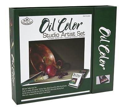 Royal & Langnickel Oil Color Studio Artist Set