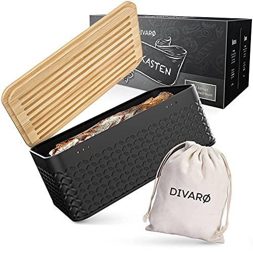 DIVARØ Brotkasten – Brotbox mit...