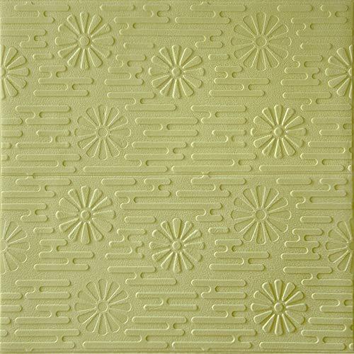 HUU 3D tapeten 3D Effekt Wohnzimmer Panel-Aufkleber 3D horizontal floral Tapete Wand geeignet for Wohnzimmer Schlafzimmer Kinderzimmer Kamin Hintergrund Wand TV Wand Thema Hoteldekoration