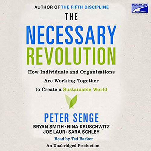 The Necessary Revolution audiobook cover art