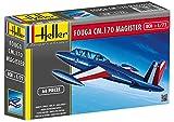 Heller - 80220 - Construction Et Maquettes - Fouga Magister Cm 170 - Echelle 1/72ème