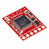 SparkFun OpenLog Open-source data logger works over a simple serial connection Supports microSD FAT16/32 cards up to 32GB Configurable baud rates up to 115200bps Preprogrammed ATmega328 and bootloader