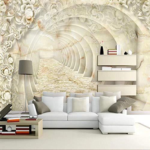 3D vliesbehang foto vlies premium fotobehang marmeren achtergrond behang wandschilderij van driedimensionale patroon 3d 200*140 200 x 140 cm.