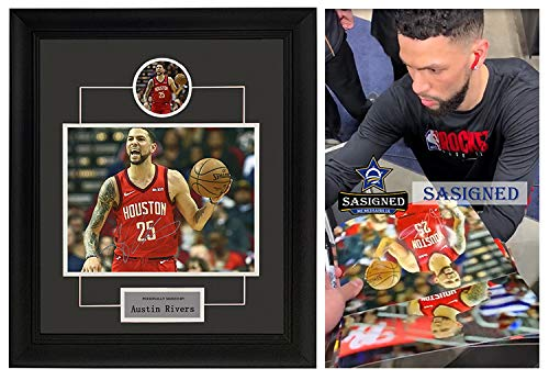 Austin Rivers signed autographed photo sasigned coa proof framed