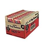 Nissin Top Ramen Beef Flavor Ramen Noodle Soup 3 Oz (Pack of 48)